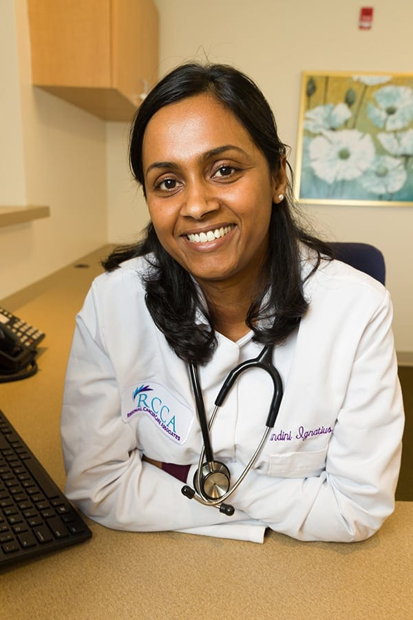 Dr. Nandini Ignatius: New RCCA Office in Old Bridge, NJ