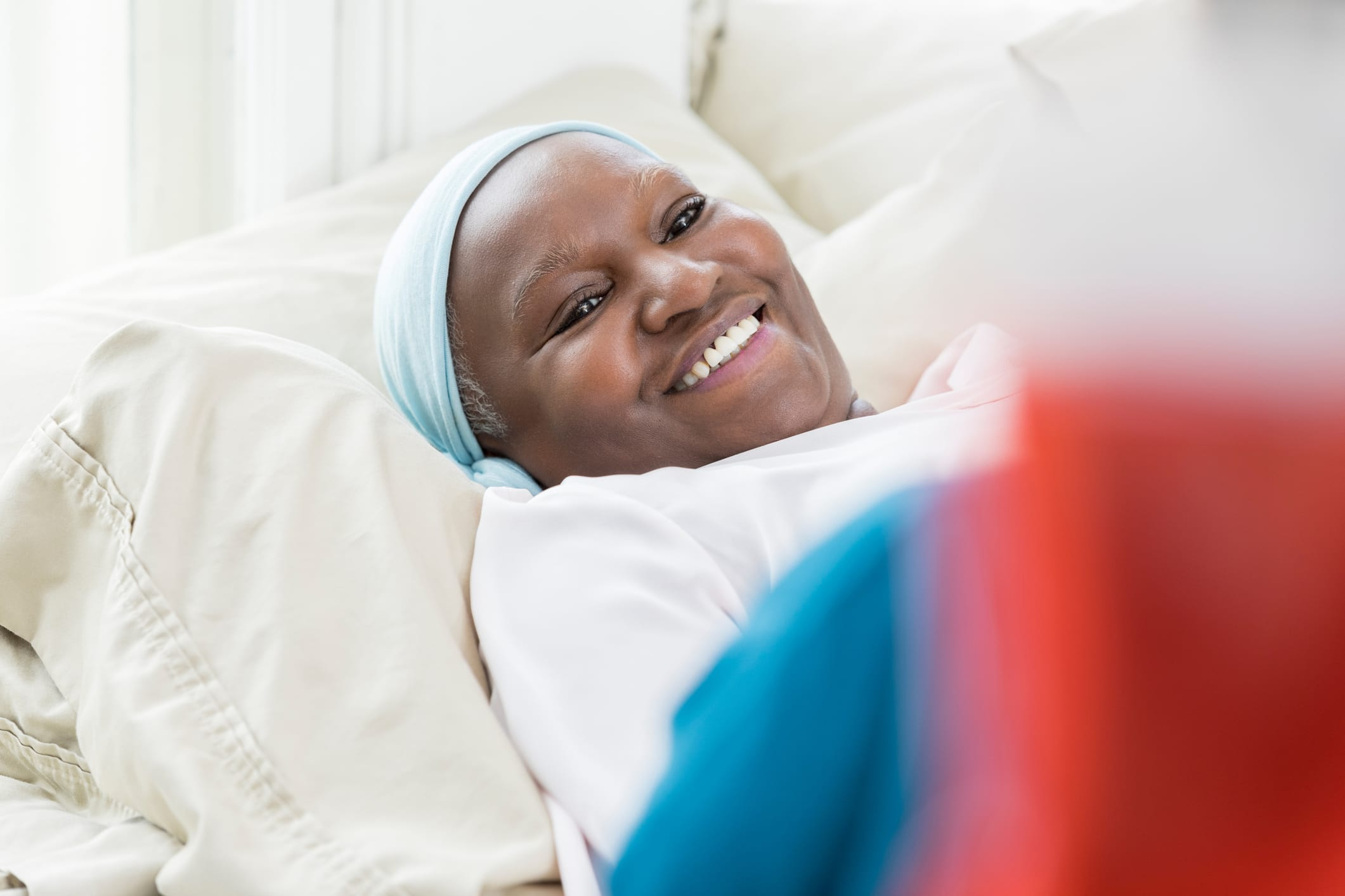 Cancer Patient Smiling