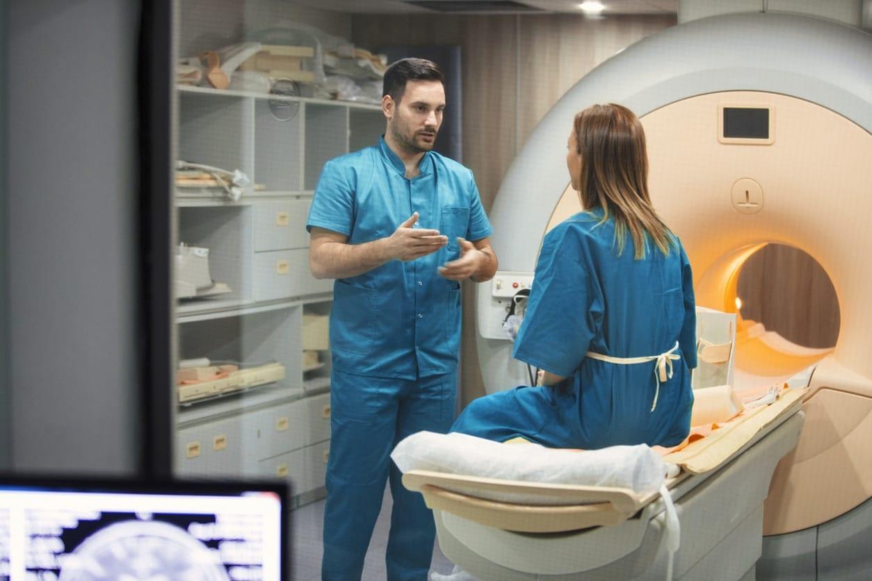 Doctor Scanning Patient