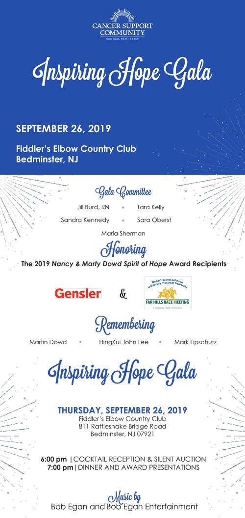 Inspiring Hope Gala
