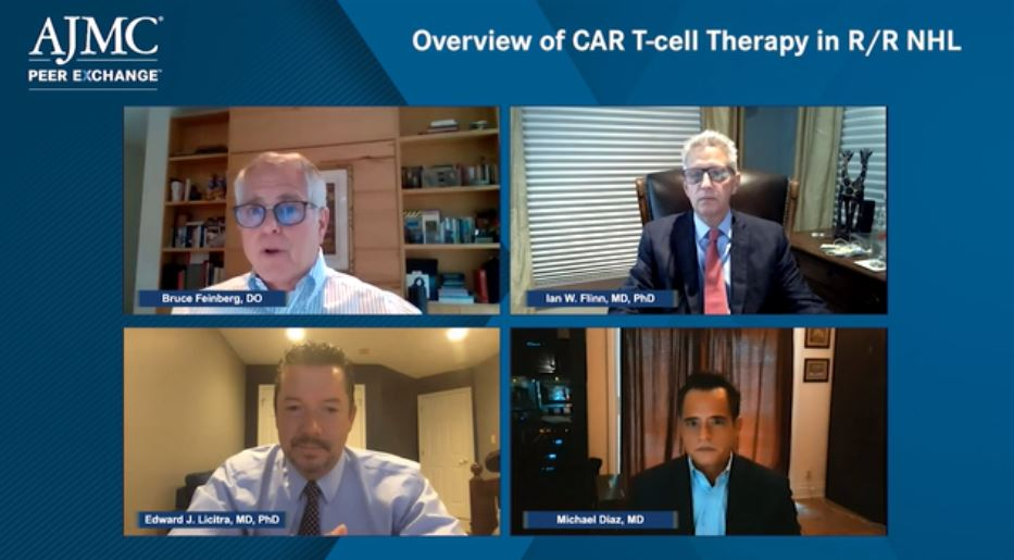 Dr. Edward Licitra participates in the latest AJMC peer-to-peer virtual discussion